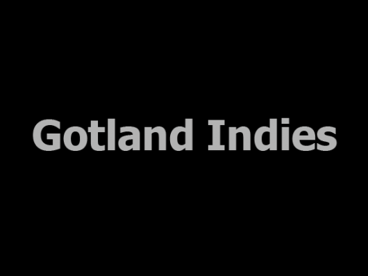 Gotland Indies (want to make a logo for us? please get in touch. :) )