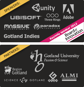 Logos from all speakers and partners